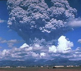 Erupção do Monte Pinatubo, Filipinas, 1991.
