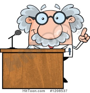 1208537-cartoon-of-a-science-professor-speaking-behind-a-podium-royalty-free-vector-clipart